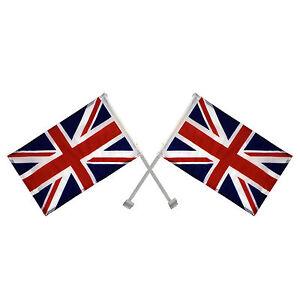 50 x Union Jack Window Car Flags United Kingdom Great Britain England Joblot