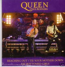 """QUEEN + P.RODGERS """"Reaching Out....""""3 Track  PROMO RARE"""