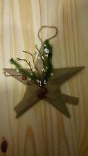 Primitive Tin Star 1 Ornaments (Medium Size)