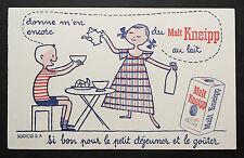 BUVARD PUBLICITAIRE ANCIEN : CAFE MALT KNEIPP - ENFANT