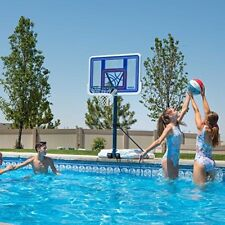 Pool Basketball Hoop Swimming Goal Net Water Adjustable Lifetime Backboard New