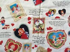 Clearance FQ San Valentino vecchio stile i bambini in tessuto CUORI POESIE Retrò Vintage