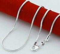 Juweliers halskette 925 Sterling Silber plattiert versilbert Ersatz Chain silver