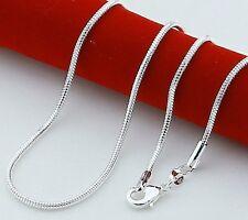 1 Stück Juweliers halskette 925 Sterling Silber plattiert versilbert Ersatz 03