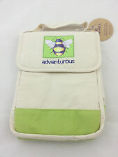 "Demdaco ""Bee Adventurous"" Insulated Lunch Bag 14532 Nwt R$14.99"