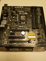 ASUS B150M-C/CSM Gaming mATX Motherboard Intel Socket LGA1511 DDR4