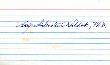 Mary Lindenstein Walshok - Signature(S)