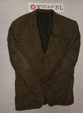 DESCH luxus Harris Tweed  Sakko Gr. 50 Jacke AERMEL STUCKE JACKET FEIN