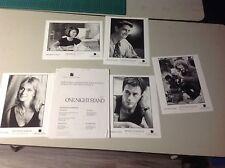 OOP Movie Press Kit ONE NIGHT STAND Film 8x10 photos mini poster robert downey!!