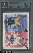 2000 Skybox Dominion #234 Tom Brady RC Rookie BGS 8.5 NM-MT+