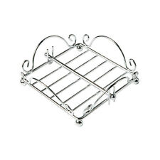 Napkin Holder Chrome Wire Daily Use Item Tableware Dining Home Kitchen Stylish