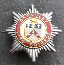 "BARNSLEY FIRE BRIGADE CAP BADGE. Height 1-3/4"" (43mm)"