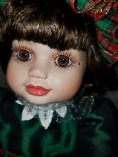 "Marie Osmond Doll ~ Porcelain Toddler  ~ 24"" Baby Olive May Christmas"