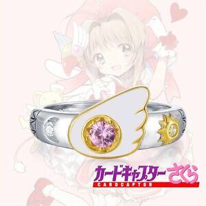 Cardcaptor Sakura Kinomoto 925 Sterling Silver Ring
