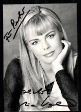 Saskia Valencia Autogrammkarte Original Signiert ## BC 13103