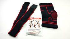 Athletic Plantar Fasciitis Support Sock Ankle Brace Strap Med 2 Socks Medium New