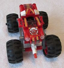 """Lego Monster Truck Red Completed Without Box or Instructions """"As-Is"""""""