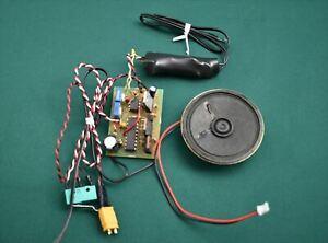 AE9040 Caldercraft Sound System Radio Control Parts Diesel & Horn Sound New