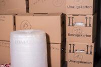 LDPE Luftpolsterfolie 10mm Noppe 2-schichtig 100 m Rolle 0,060 mm Noppenfolie