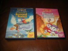 LOT 2 DVD DISNEY LOSANGE N°26 BERNARD ET BIANCA + N°35 AU PAYS DES KANGOUROUS