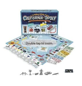CALIFORNIA-OPOLY Board Game - Monopoly Wrapped Brand New