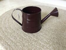 New Decorative Burgundy Metal Watering Can,Decor,Spring,Summer,F ree Ship,Garden