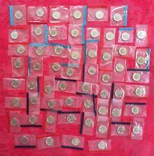 1968-1981 1984-1999 P + D BU Roosevelt Dimes Mint Cello Set 60 Coins