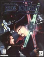 Star Wars Jedi Knight Dark Forces II 2 + Manual PC CD battle enemies power game!