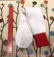 Super Thick Orlon Acrylic Hiking Tube Socks Red Elastic Unworn Vintage Cushy