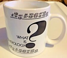 Numerology Coffee Mug Ceramic The Mystical Relationship of Numbers & Events