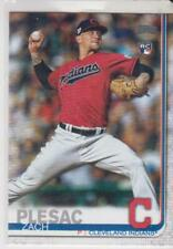 Topps Update Series 2019 #US19 Zach Plesac Cleveland Indians Rookie RC