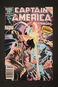 Captain America Annual #8 - NEAR MINT 9.2 NM - Marvel Comics