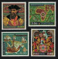 Portugal 500th Birth Anniversary of Vasco da Gama 4v 1969 ** MNH SG#1374-1377
