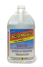 NEW CASE (4/1 GAL. JUGS) CERTOL ACID MAGIC® USA/128 - BUFFERED MURIATIC ACID NIB
