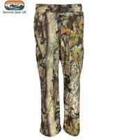 Adult Waterproof Breathable Trouser English Hedgerow Camouflage Silent Stealth