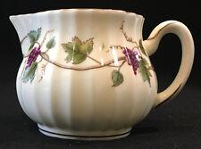 Royal Worcester Fine Bone China Bacchanal Creamer Grapes Vine Gold Trim