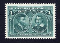 Canada Sc #97 (1908) 1c Quebec Tercentenary VF NH