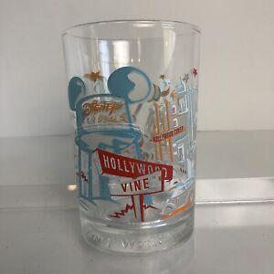 Walt Disney Beauty Beast Disney Studios Glass McDonalds Cup Hollywood Vine