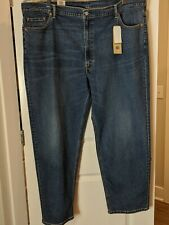 Levi's 550 Relaxed Fit Mens Big Tall Size 50x32  Stretch Denim Jeans MSRP $69.50
