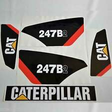 247B2 Decals, 247B2 Stickers Kit Skid Steer loader, laminated, decal set