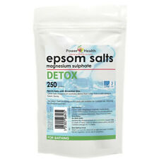 Power Health Magnesium Sulphate Epsom Salts for Bathing - Detox 250g