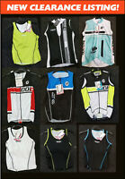 CLEARANCE NEW Doltcini Sleeveless Ladies/Womens Cycling Jersey/Singlets.UK STOCK
