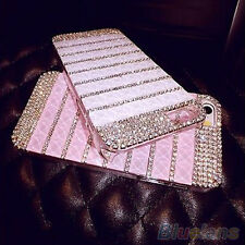Celeb Womens Luxury Bling Rhinestone Skin Case Cover For Apple iPhone 6 6 Plus