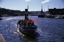 PHOTO  1988 BRISTOL STEAM TUG MAYFLOWER ARRIVING BACK AT THE INDUSTRIAL MUSEUM F