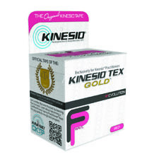 McK Kinesio Tex Gold FP Kinesiology Tape 2 Inch X 5-1/2 Yard Red  - Pack of 1