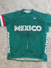 MENS HILL KILLER GREEN MEXICO SS USED XXL JERSEY.
