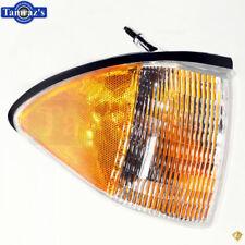 87-93 Mustang Front Bumper Nose Parking Side Marker Light Lamp Lens - RH