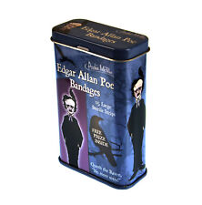 Edgar Allan Poe yesos-Band Aids en una lata