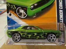 Hot Wheels Dodge Challenger Concept Heat Fleet Green