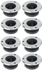 8) Boss Audio TW-30 3-Inch 1200W Bullet Dome Flush Super Tweeters Stereo